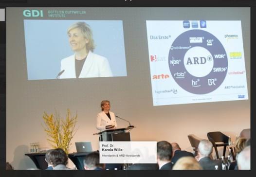 ARD-Intendantin Karola Wille und ihr Verantwortungsbereich